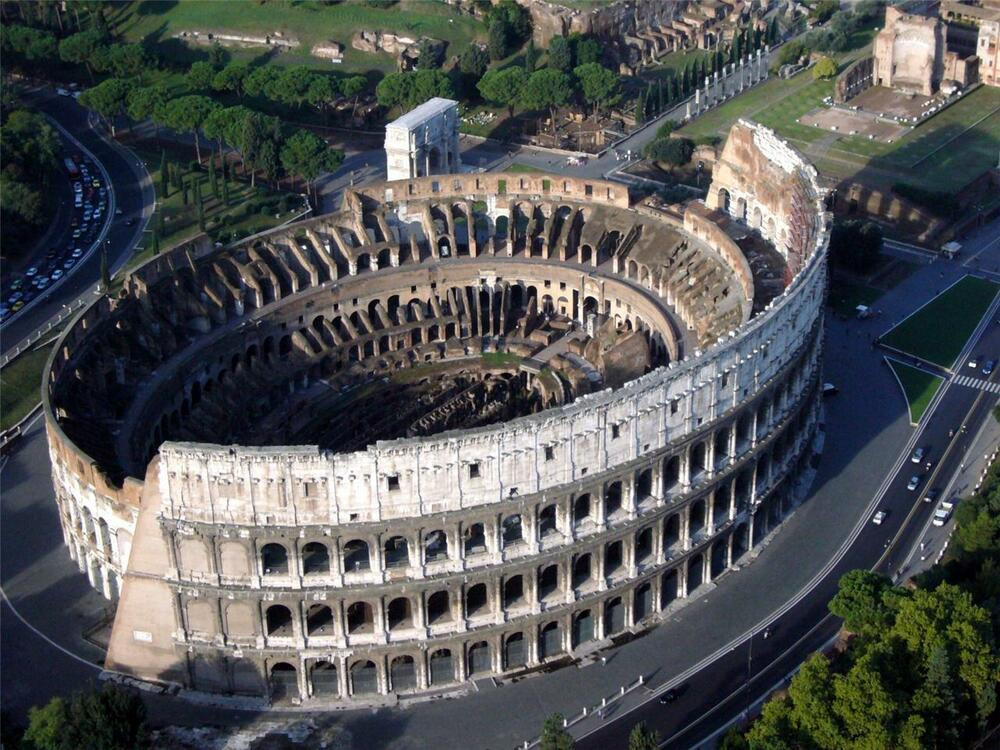 ROMAN COLOSSEUM GLOSSY POSTER PICTURE PHOTO Coliseum Italy