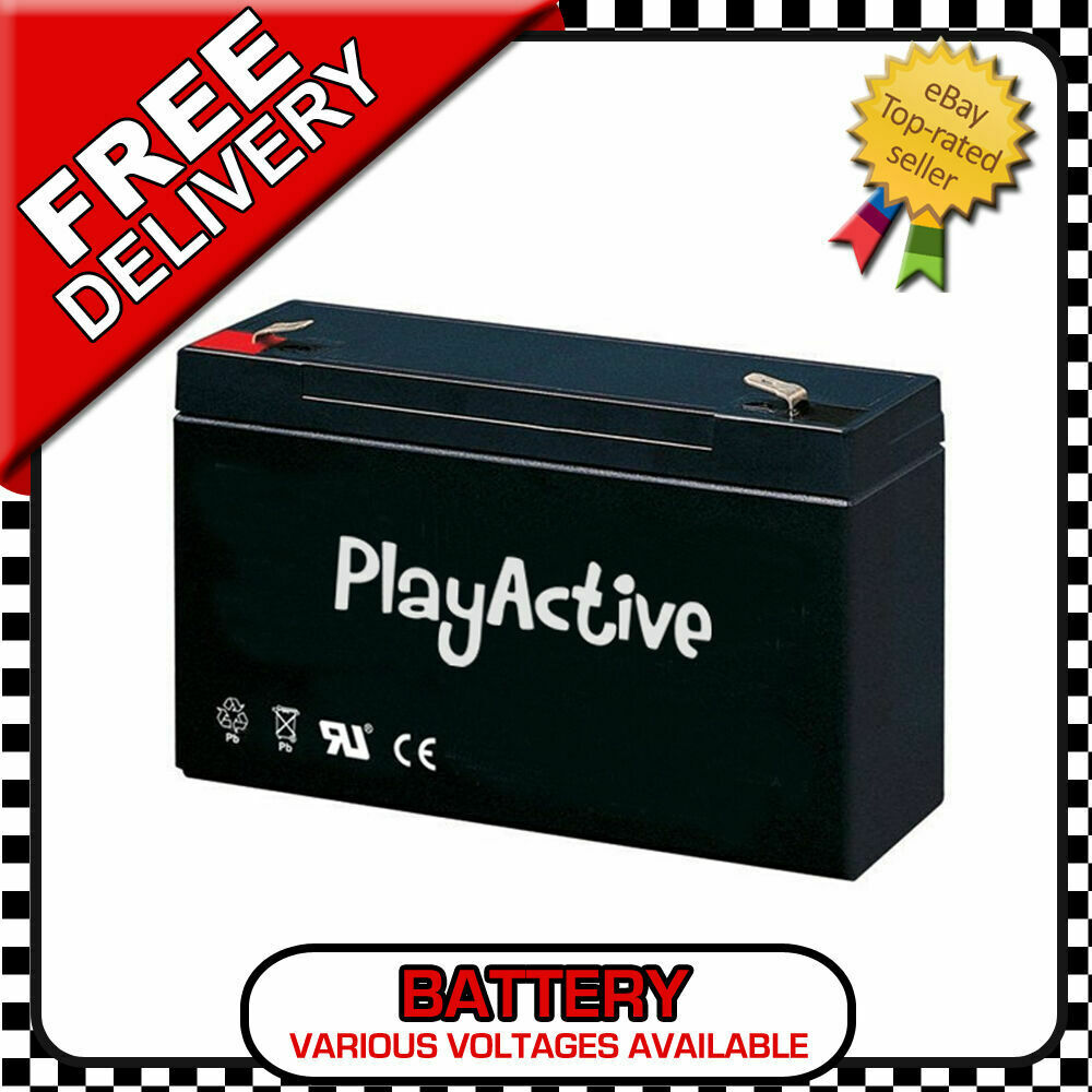 RIDE ON CAR REPLACEMENT BATTERY RIDE ON JEEP AUDI BMW QUAD