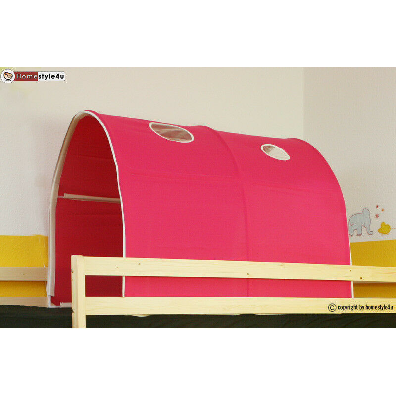 tunnel versteck h hle f r etagenbett hochbett kinderbett spielbett baldachin ebay. Black Bedroom Furniture Sets. Home Design Ideas