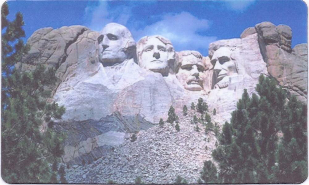 Mount rushmore gorgeous souvenir magnet 79 ebay for Interesting facts about mount rushmore