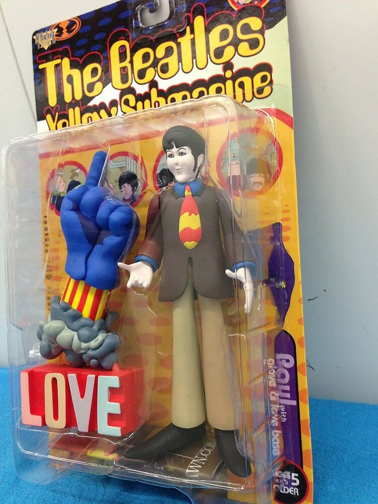 Toys And Love : Mcfarlane toys beatles yellow submarine paul with glove
