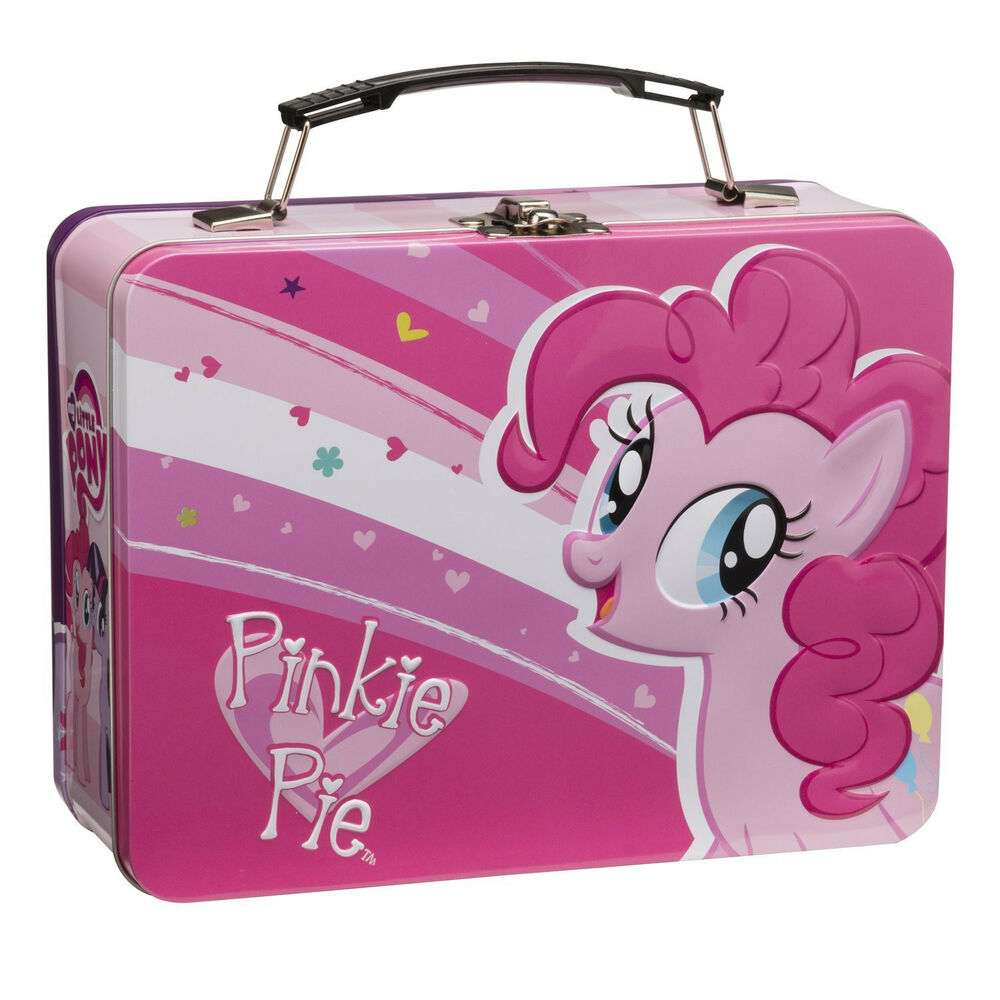 my little pony large metal tin lunch box new toys kids. Black Bedroom Furniture Sets. Home Design Ideas