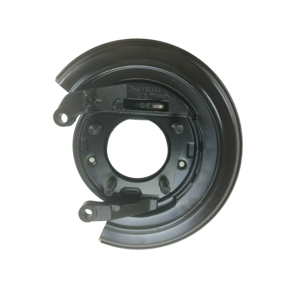 Car Interior Accessories List >> NEW OEM 1999-2004 Ford F-250, F-350 LEFT Rear Brake Backing Plate, Parking Shoes | eBay
