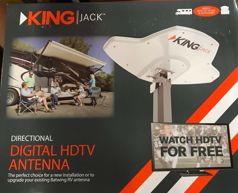 Rv Jack Digital Hdtv Antenna Replacement Head By King