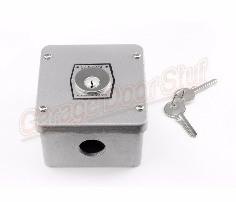Commercial Garage Door Opener Keyed Control Tamper Proof