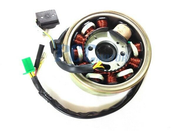 11 Coils Gy6 150cc Stator Coil Magneto Flywheel Scooter Atv 125cc P Is28