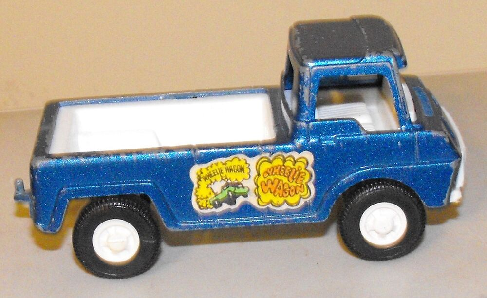 "VINTAGE 1969 TOOTSIETOY 4"" METAL DIECAST PICK UP TRUCK USA"