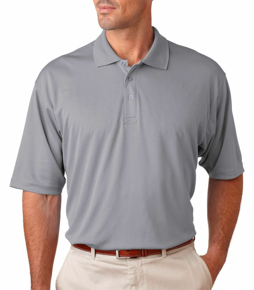 Ultraclub Men 39 S Moisture Wicking Relax Fit Polyester Sport