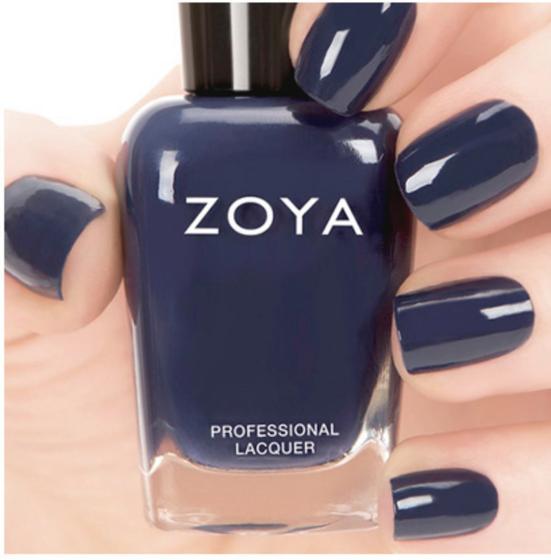 Black Nail Polish Ebay: ZOYA ZP696 SAILOR Dark Navy Nail Polish Lacquer~CASHMERES