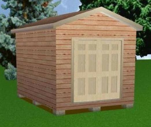 10x14 storage shed plans package blueprints material for Material list for shed