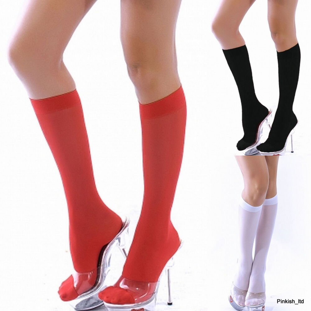 Knee High Socks. Double the height, double the fun right? With countless crazy variations allowing you to loudly express yourself, make your statement known: whether repping Frankenstein or Hedgehogs, there is certainly no shortage of colorful and unique knee high .