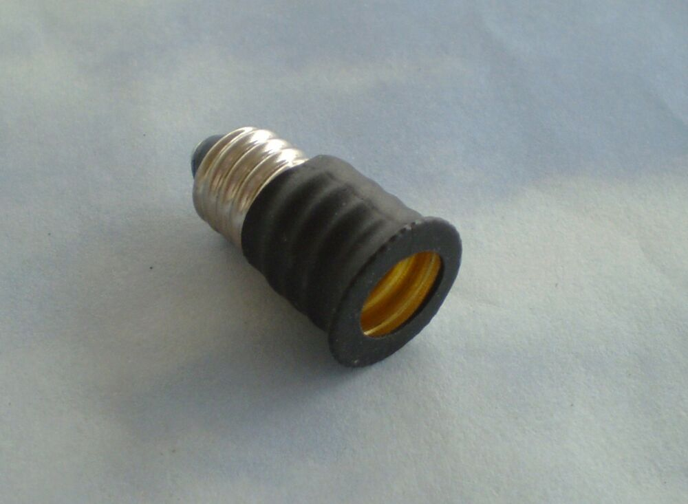 1 Adapter To Use E12 Candelabra Base Light Bulbs In E11 European Candelaba Base Ebay