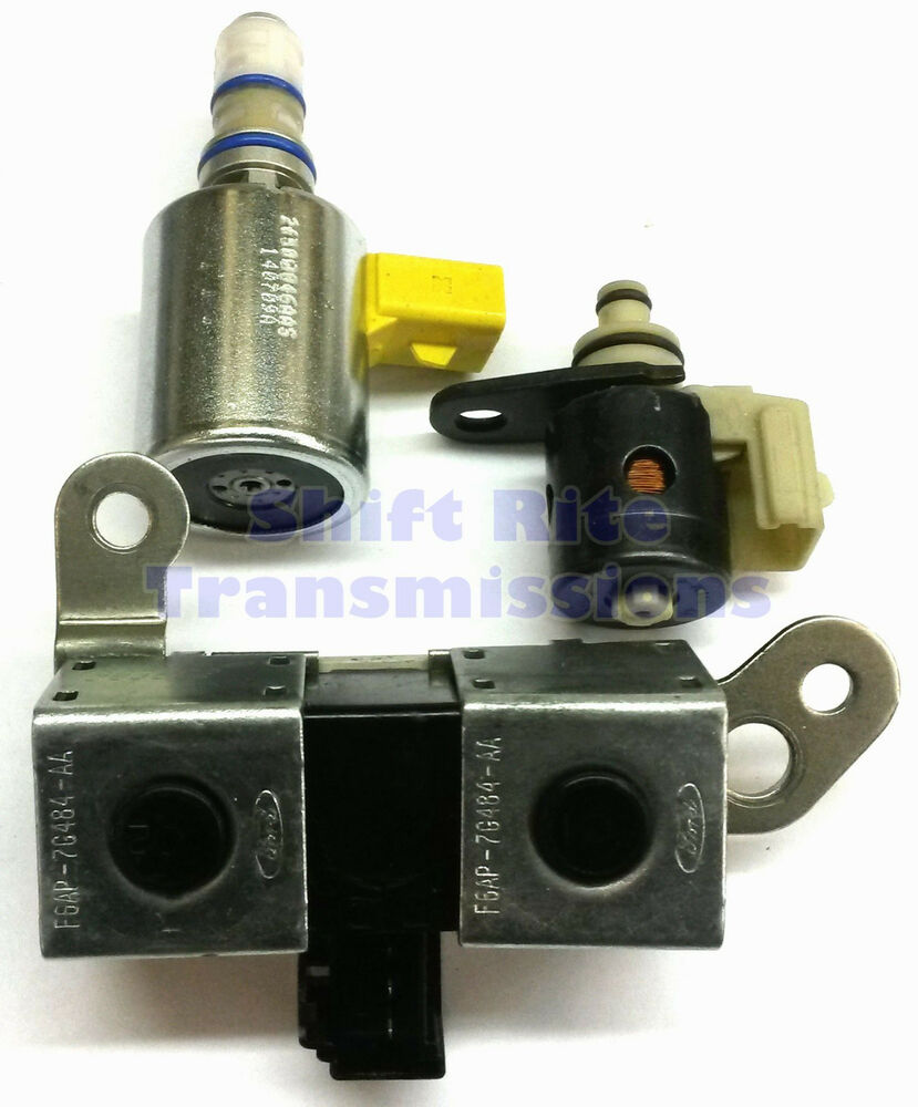 95-97 4R70W AODE 3 PIECE SOLENOID KIT TCC EPC SHIFT FORD