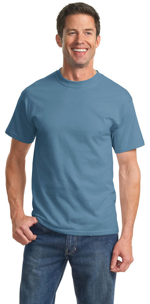 Port Company Big Tall Men 39 S 100 Cotton T Shirt