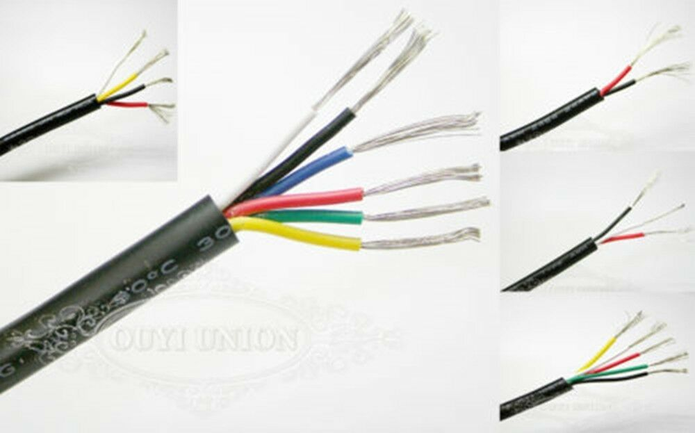 Multi Core Cable : Multicore cable flexible points signal small power