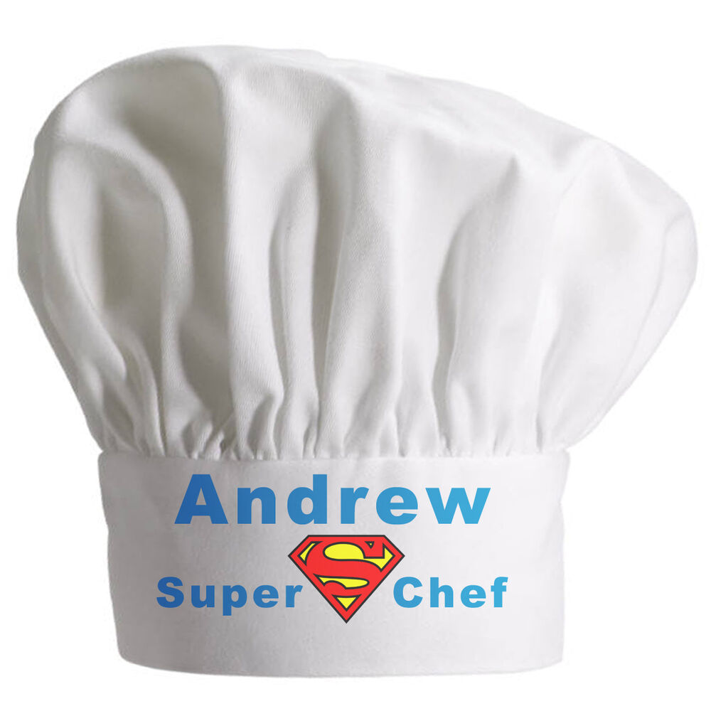 Personalised Chefs Hat Great Christmas Gift Full Colour