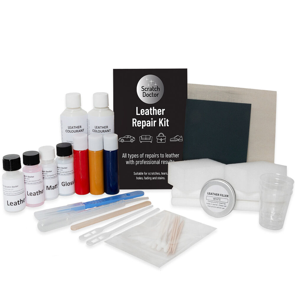 Dark Brown Leather Sofa Amp Chair Repair Kit For Tears Holes