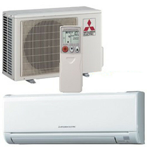 Mitsubishi Mr Slim Msz Muz Gl09na Ductless Mini Split Heat