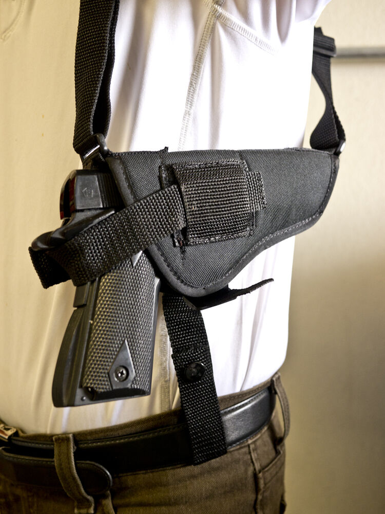 TISAS Turkish 1911 A1 .45 | Nylon Horiz. Shoulder Holster ...