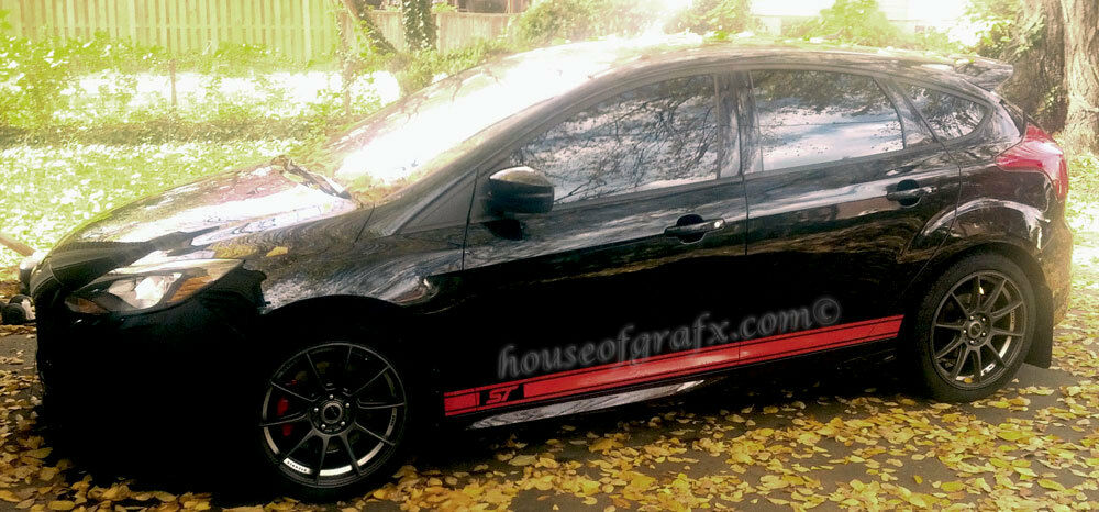 Stripes and decals for focus st html autos post