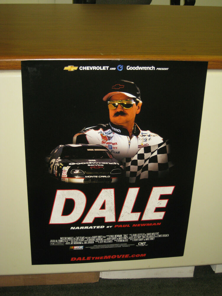 dale earnhardt movie poster new dale the movie 18 x24 gm. Black Bedroom Furniture Sets. Home Design Ideas