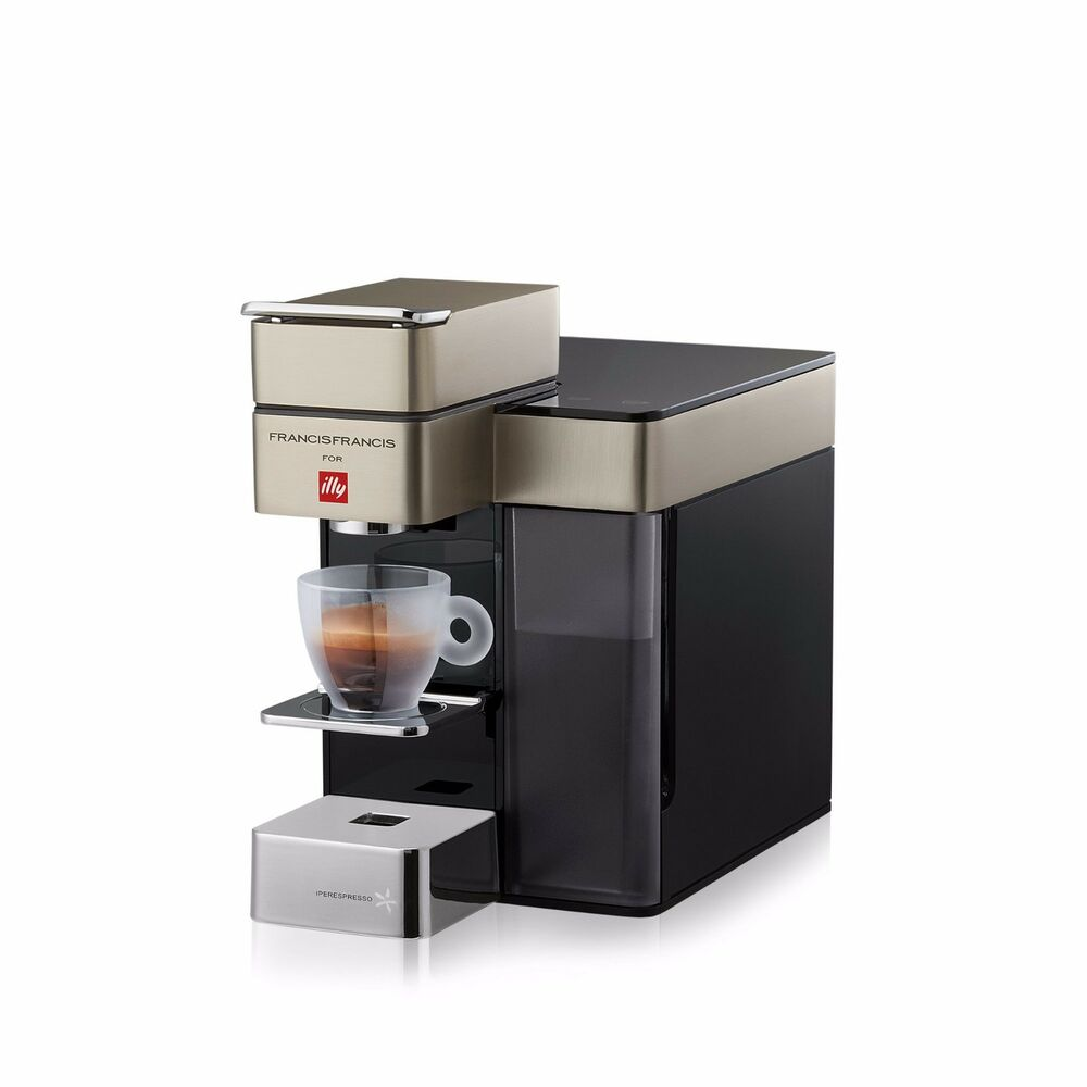 kaffeemaschine y5 francis illy italian coffee maker. Black Bedroom Furniture Sets. Home Design Ideas