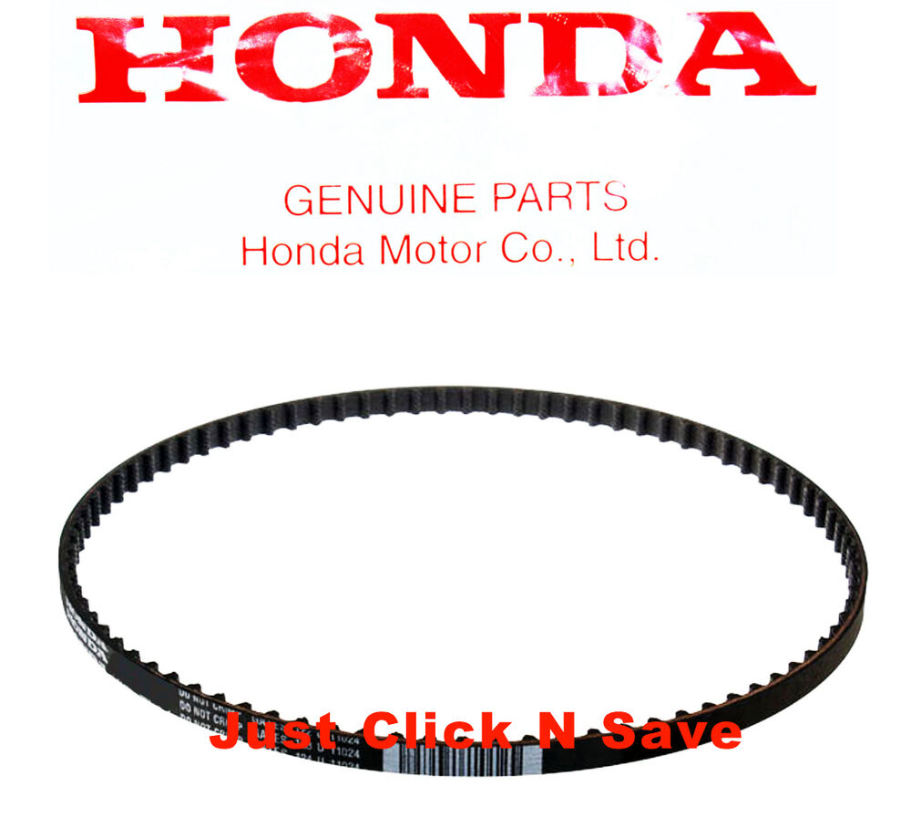 zb  genuine honda lawn mower small engines timing belt hu   ebay