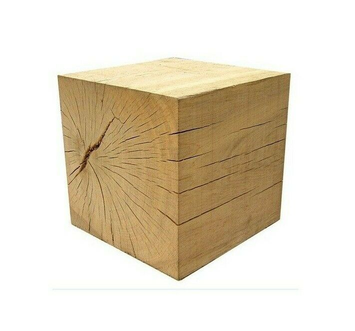 solid oak cube table plinth various sizes ebay. Black Bedroom Furniture Sets. Home Design Ideas