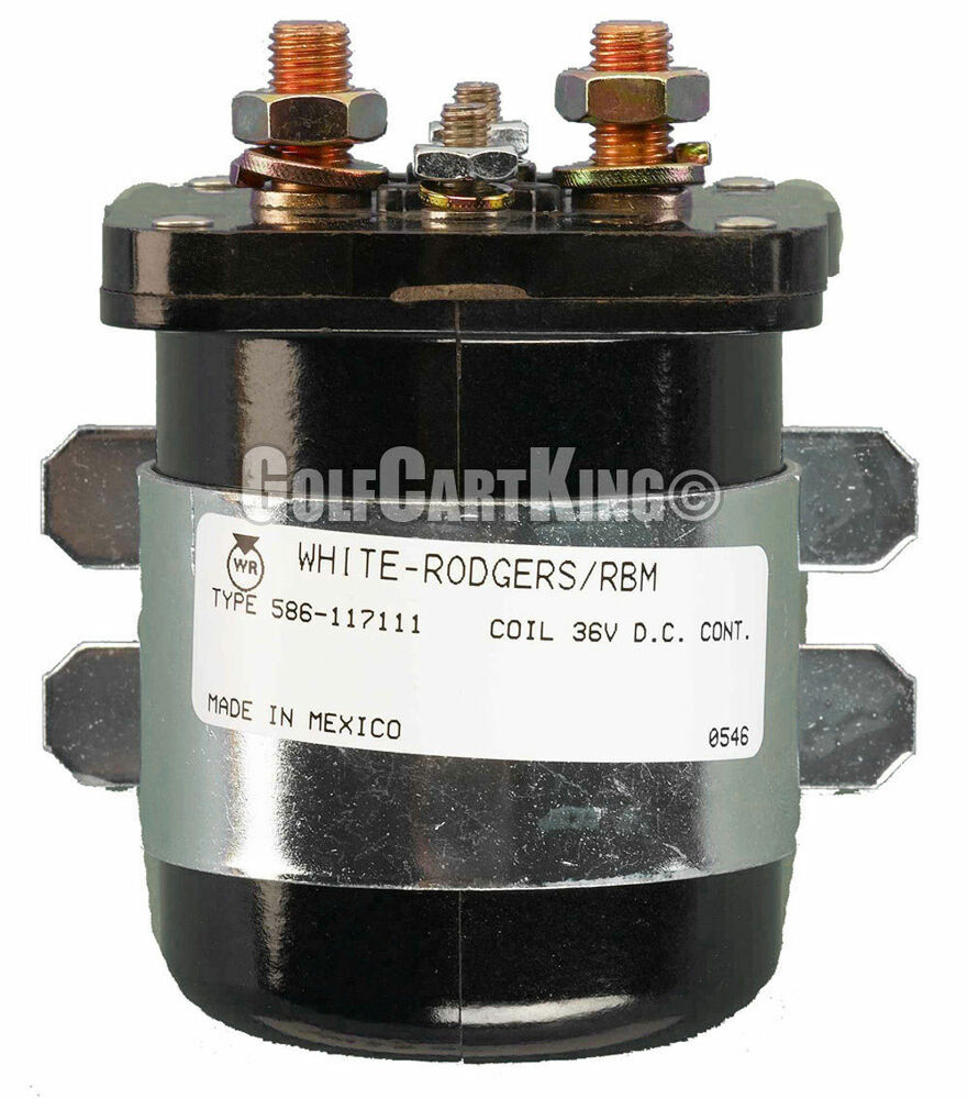 EZGO OEM Heavy Duty 36 Volt, 4 Terminal Solenoid (1989-Up ...