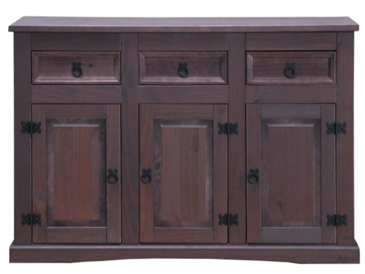 mexiko sideboard new mexico 3 3 anrichte buffet schrank. Black Bedroom Furniture Sets. Home Design Ideas