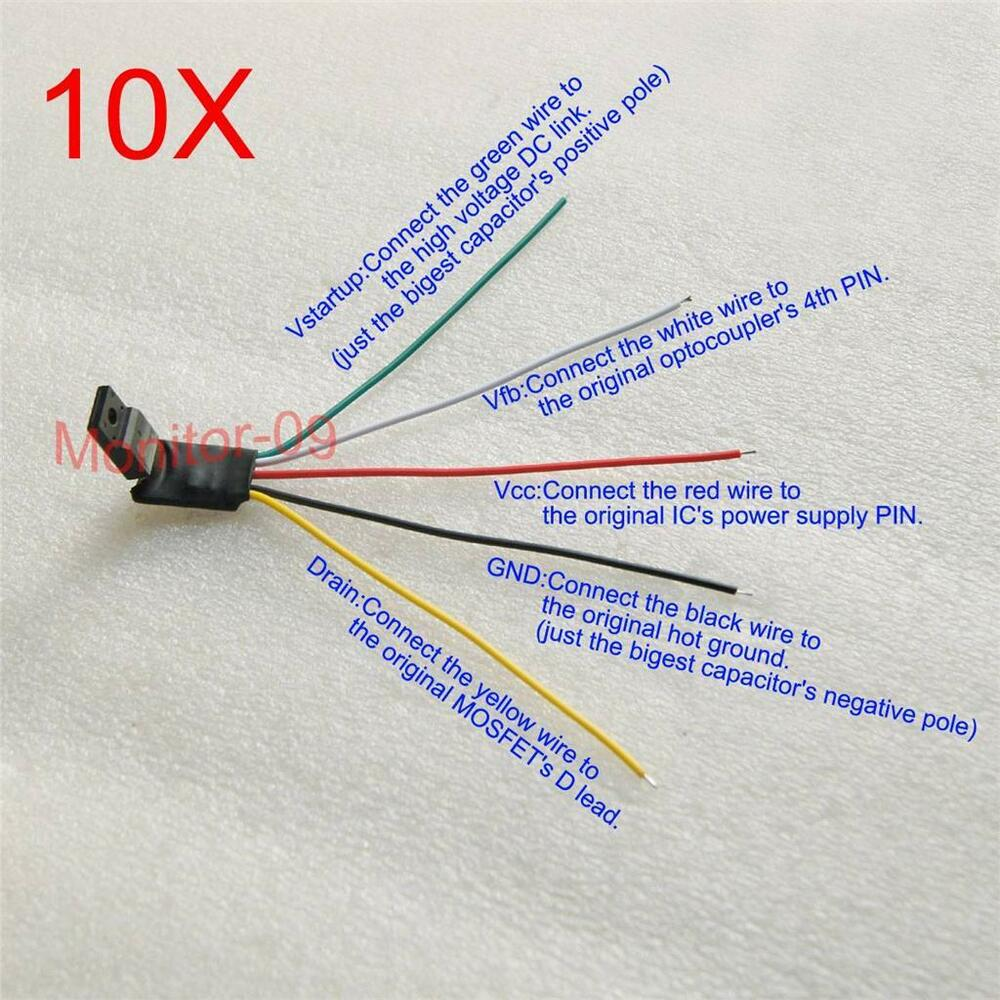 10PCS Universal Power Supply Controller Module for Repairing Monitor ...