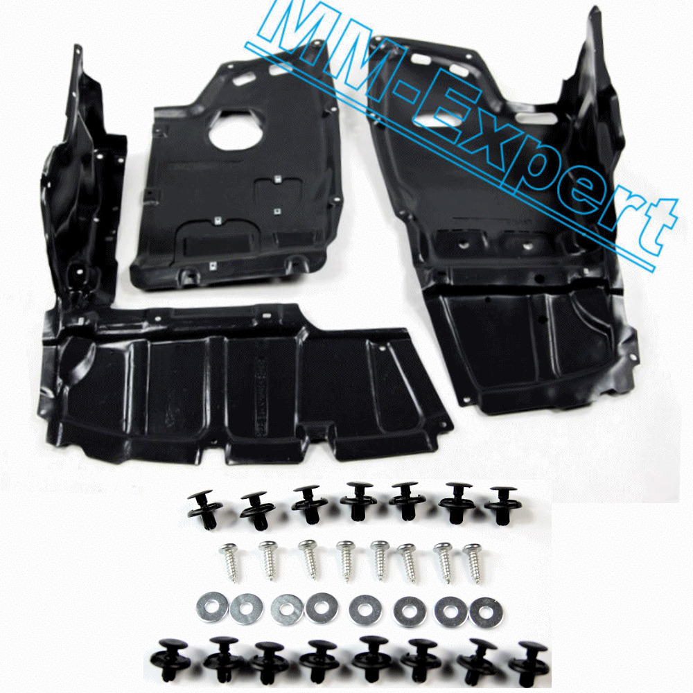 Toyota Avensis Under Engine Cover Diesel 2.0 + FITTING KIT