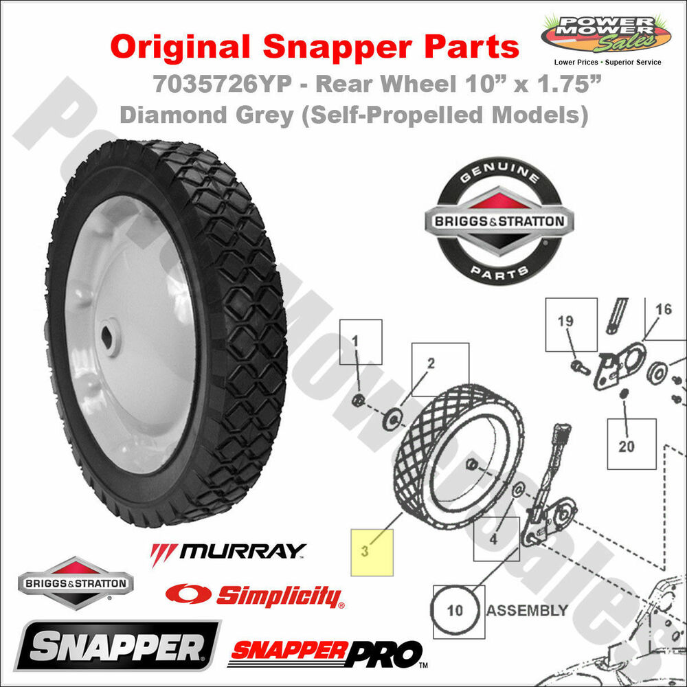 Snapper Rear Hub : Yp snapper rear wheel  diamond grey