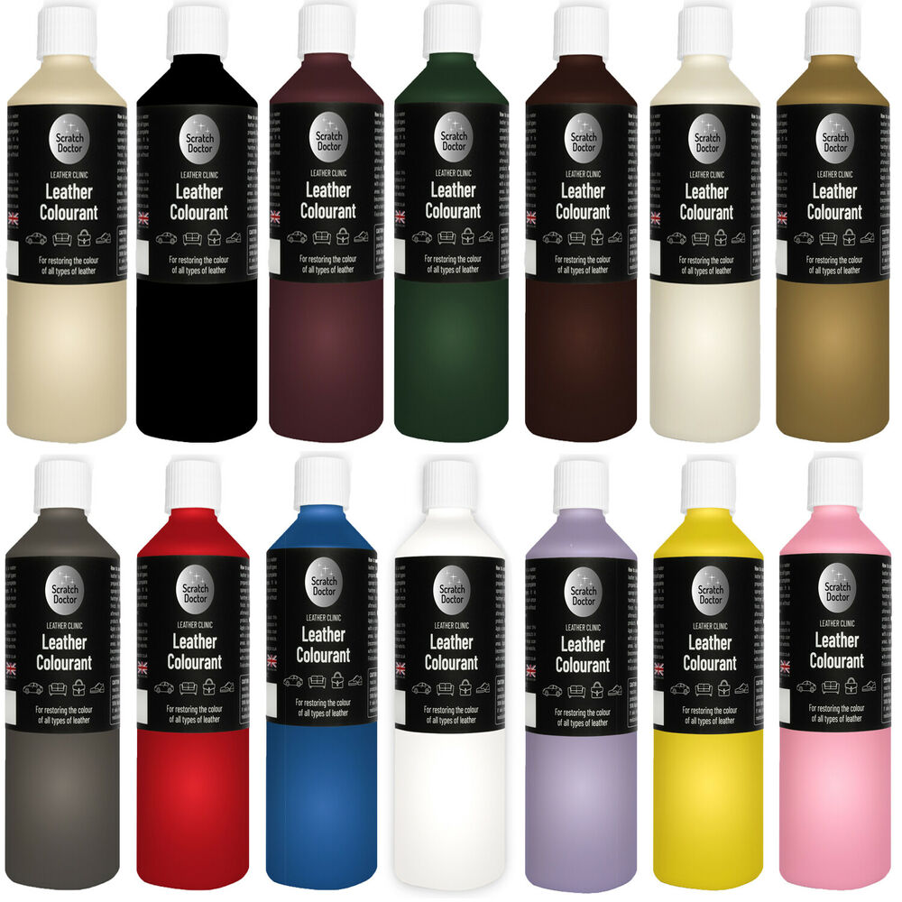 Leather Dye For Sofas Uk: 1000ml / 1 Litre Leather Colourant Pigment Stain Dye
