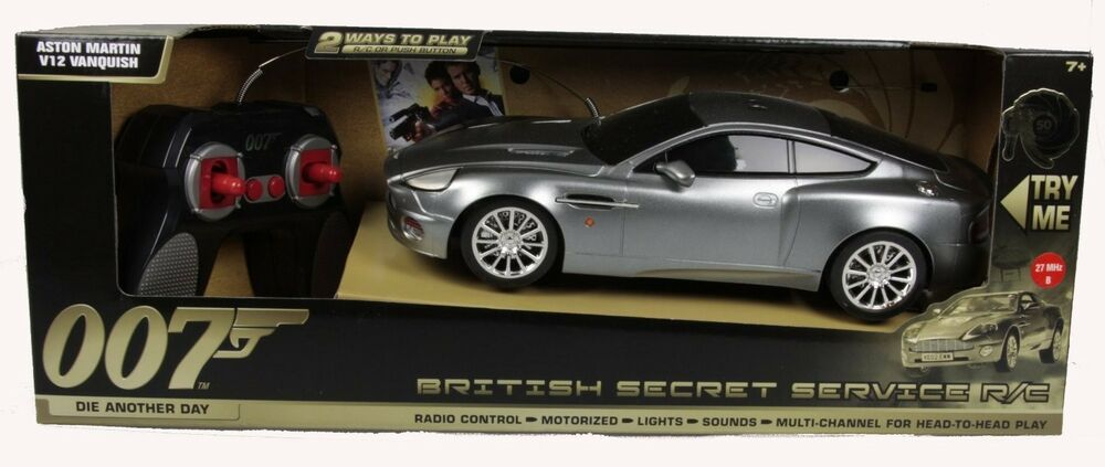 toy state rc james bond 007 aston martin v12 vanquish. Black Bedroom Furniture Sets. Home Design Ideas