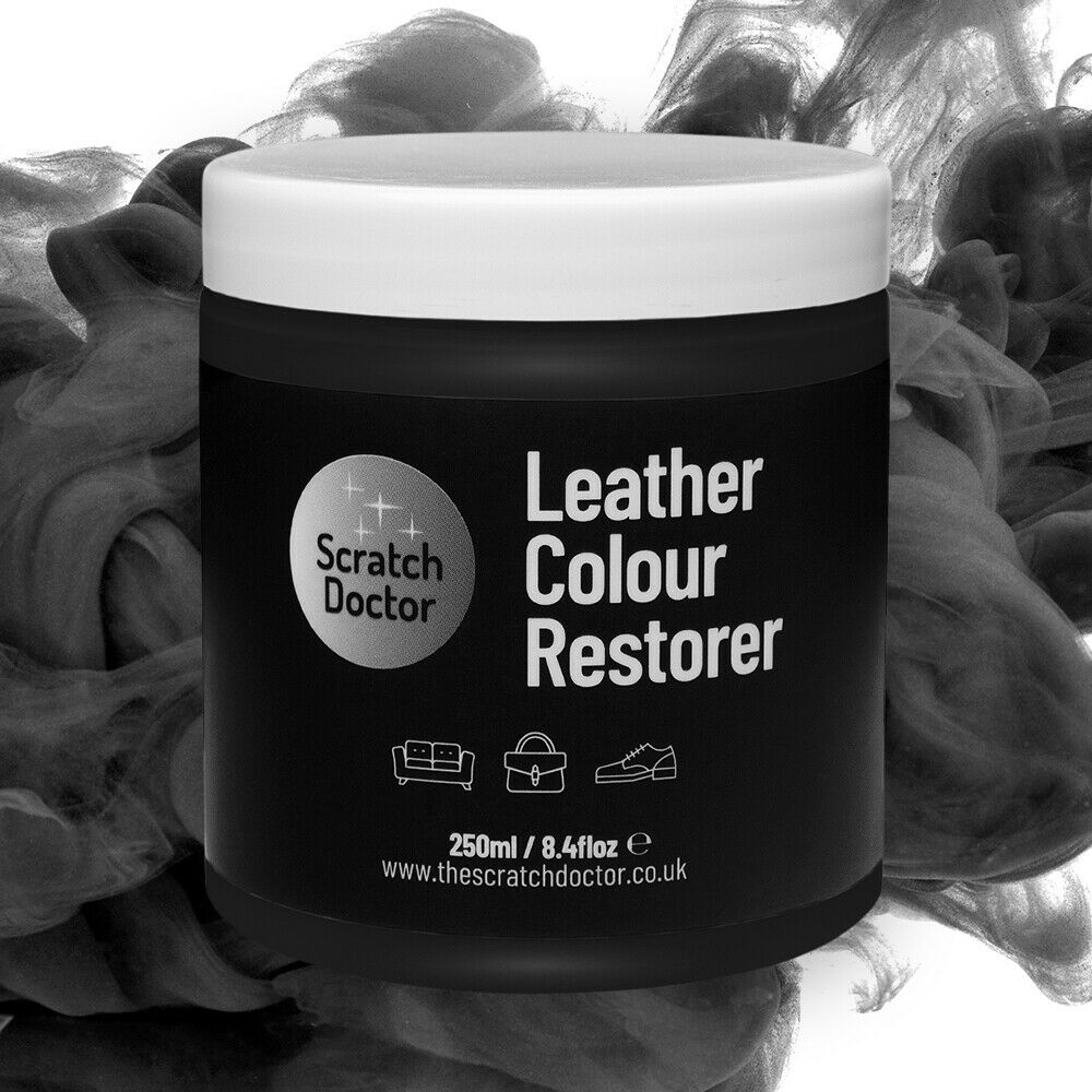 Black Leather Colour Dye Restorer Repair Faded Amp Worn