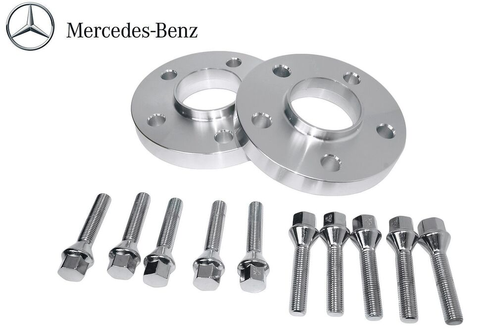 2 pc 20mm thick hub centric wheel spacers for mercedes for Wheel spacers for mercedes benz