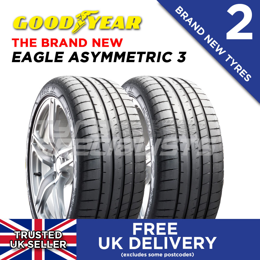 2x new 225 40 18 goodyear eagle f1 asymmetric 3 92y xl. Black Bedroom Furniture Sets. Home Design Ideas