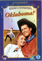 OKLAHOMA - FILM MUSICAL DVD - DANCE SONG MUSIC MOVIE - RODGERS AND HAMMERSTEIN