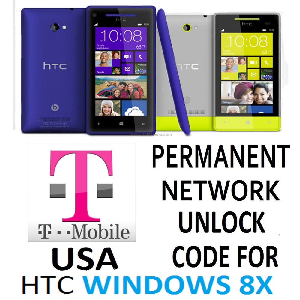 network unlock code for t mobile htc windows phone 8x pm23220 ebay