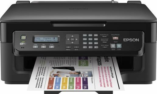 Stampante Multifunzione Epson WorkForce WF2510WF Inkjet 5760x1400 dpi