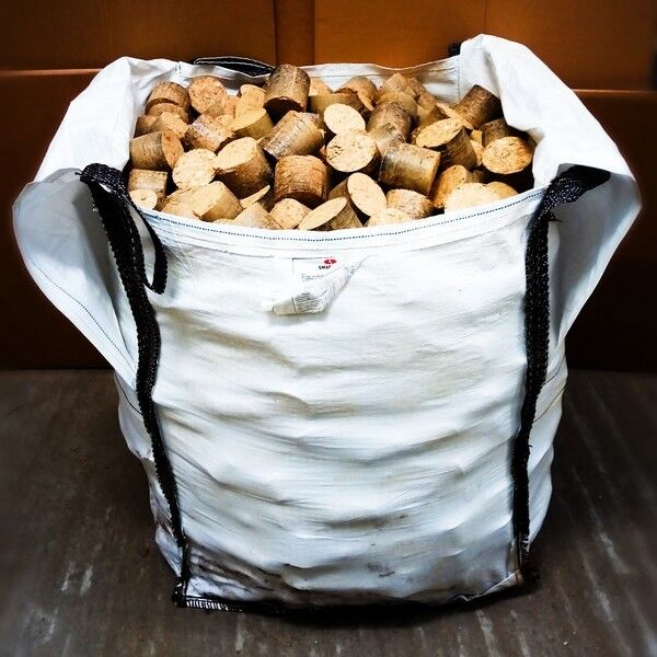 Bulk Bag Of Eco Nuggets Briquettes Logs Firewood Ebay