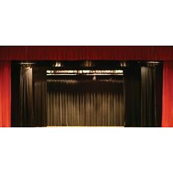 Kyпить NEW Stage Curtain~10 X 15 FR Black Backdrop~FREE SHIPPING~ More Sizes Available на еВаy.соm