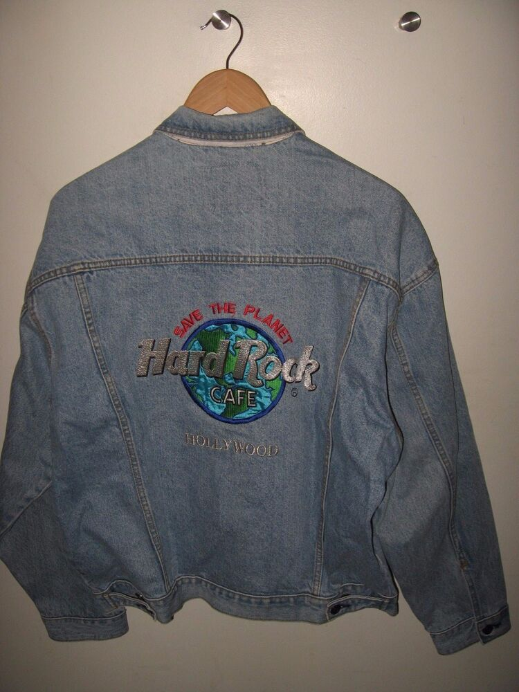 Hard Rock Cafe Jean Jacket