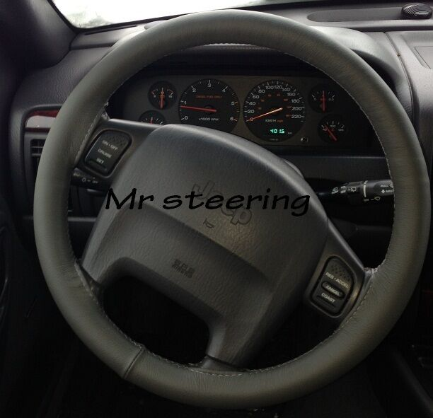 for jeep grand cherokee wj mk2 dark grey leather steering. Black Bedroom Furniture Sets. Home Design Ideas
