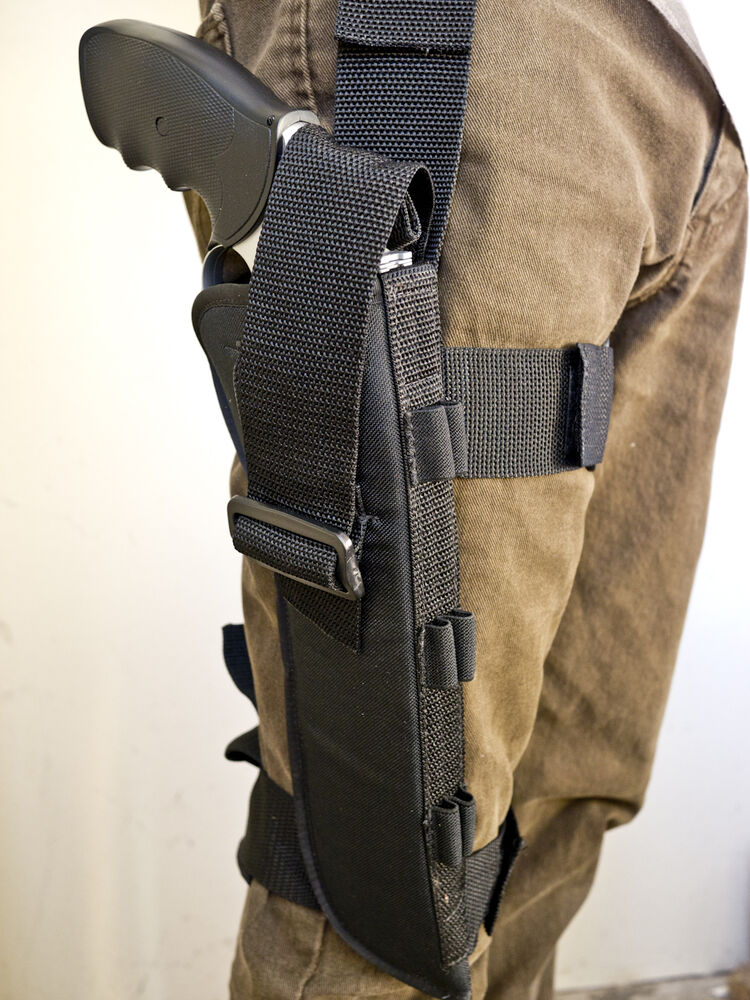 Ruger Redhawk 7 5 Quot Nylon Tactical Leg Holster With Ammo