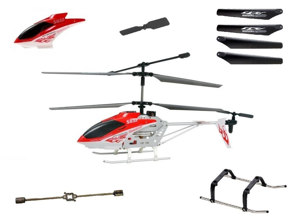 Syma s032g rc helicopter spare parts uk stock ebay for Helicoptere syma