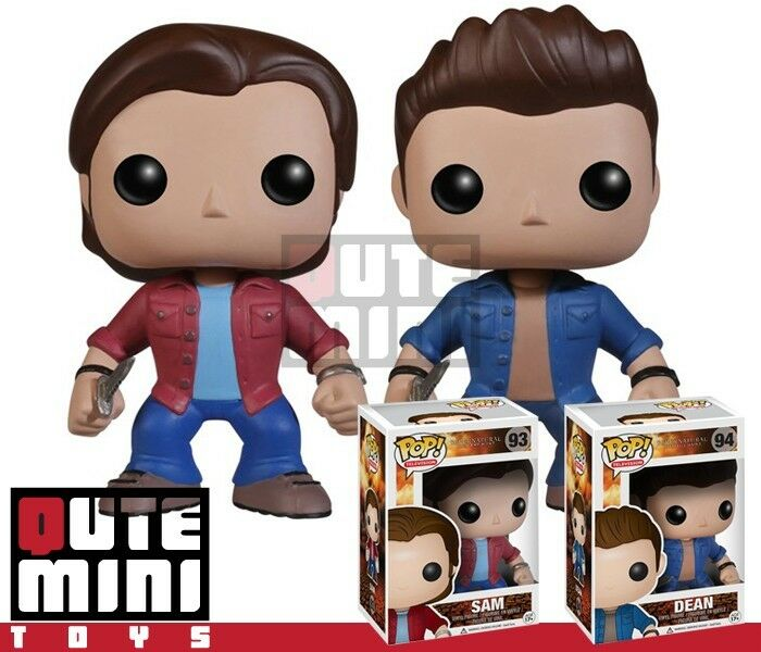 Funko Pop Tv Supernatural Sam And Dean Winchester Set Of