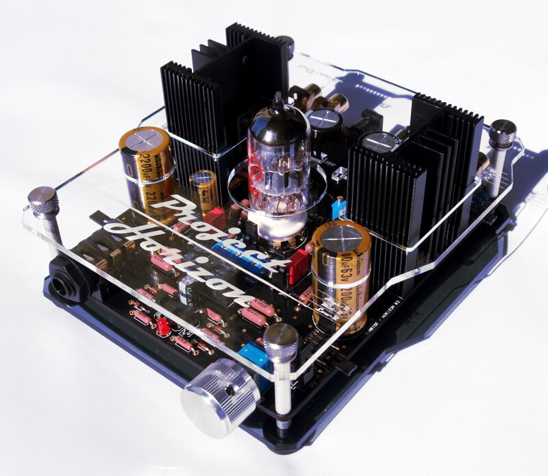 G1217 PROJECT HORIZON III TUBE HEADPHONE AMPLIFIER / PRE ...