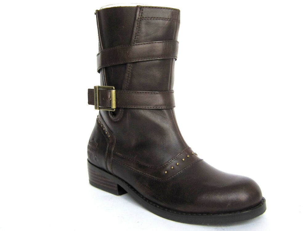 Wonderful Home Gt HarleyDavidson Womens Stylewood Leather Boots  Brown